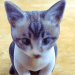 ペットの写真を3Dプリンタでフィギュア作成