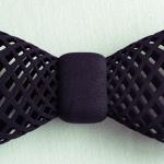 3Dプリンターで作った蝶ネクタイ
