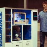 3Dプリントを自動販売機で